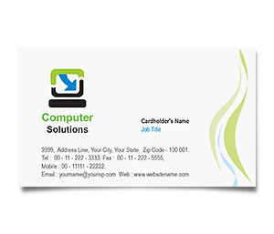Business Card printing Computer Hardware Software