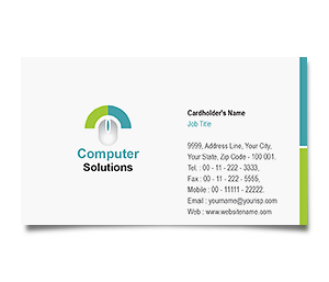 Business Card printing Computer Mouse
