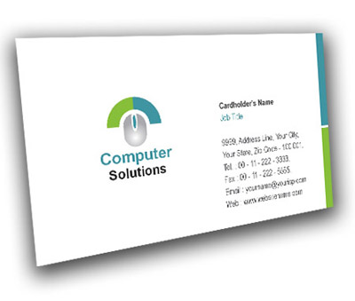 Online Business Card printing Computer Mouse