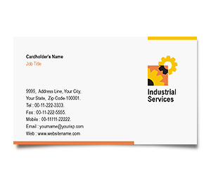 Business Card printing Industrial Safety