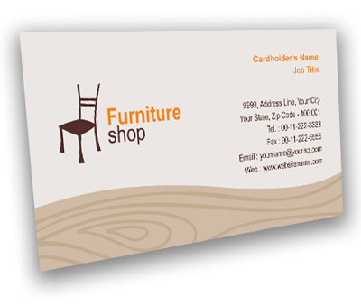 Business card design for furniture bazaar offset or digital printing online business card printing furniture bazaar colourmoves