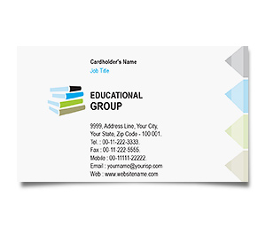 Business Card printing Private Education
