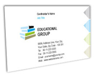 Online Business Card printing Private Education
