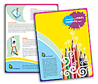 Online Brochure printing School of Arts