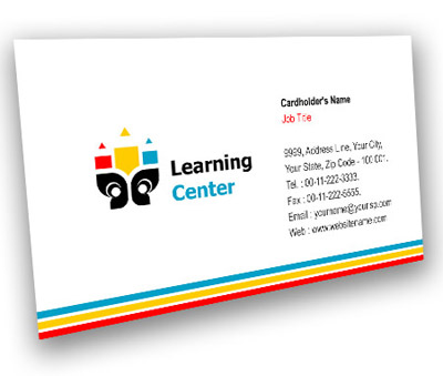 Online Business Card printing Learning Educational