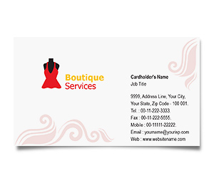 Business Card printing Brand Fashion