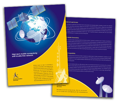 Brochure printing Wireless Communication System