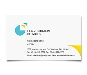 Business Card printing Communication Technology