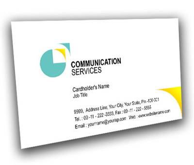 Online Business Card printing Communication Technology