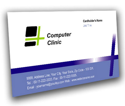 Online Business Card printing Computer Repair