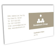Online Business Card printing Investment Group