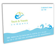 Online Business Card printing Adventure Tours