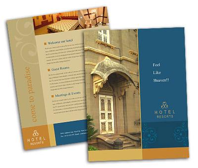 Brochure printing Heritage Hotel