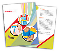 Online Brochure printing Cleaning Service Industry