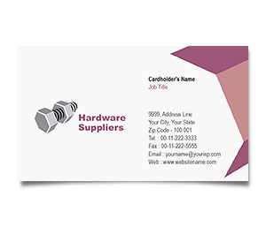 Business Card printing Industrial Companies