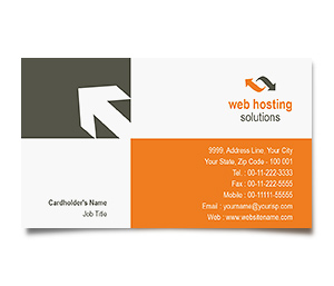 Business Card printing Web Hosting Service