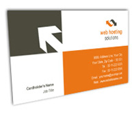 Online Business Card printing Web Hosting Service