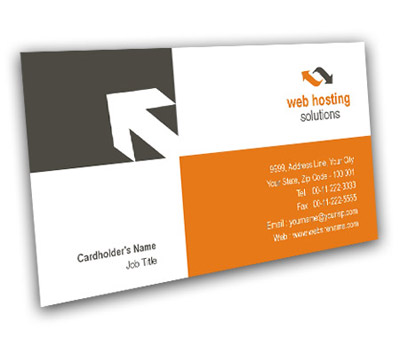 Online Business Card printing Web Hosting Service