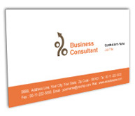 Online Business Card printing Finance and Investment Planner