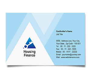 Business Card printing Housing Finance