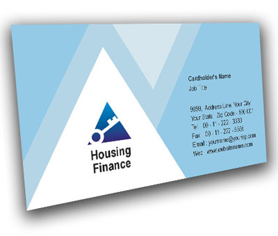 Online Business Card printing Housing Finance