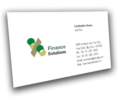 Online Business Card printing Finance Solution