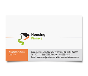 Business Card printing Real Estate Finance