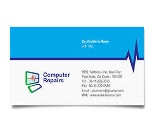 Business Card printing Computers Dealer