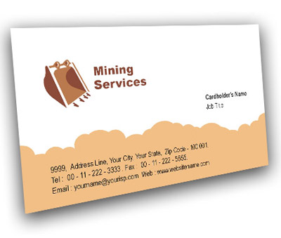 Online Business Card printing Industrial Safety