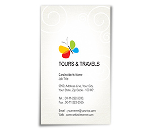 Business Card printing Classic Tours