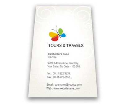 Letterhead design for tours and travels offset or digital printing online business card printing classic tours spiritdancerdesigns