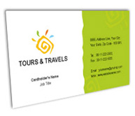 Online Business Card printing Sightseeing Tours