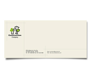 Envelope printing Home Construction