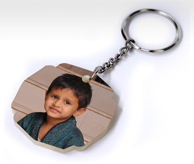 Online Key Chains printing Decorative Acrylic Keychain
