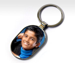 Key Chains printing Capsule