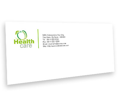 Online Envelope printing Health Care