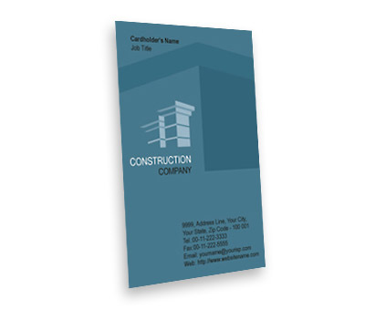 Online Business Card printing Building Construction