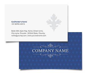 Business Card printing Indian Hospitality