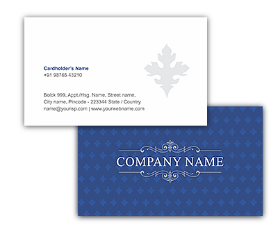 Online Business Card printing Indian Hospitality