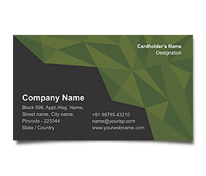 Business Card printing Topography Services