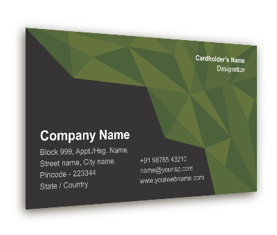 Online Business Card printing Topography Services
