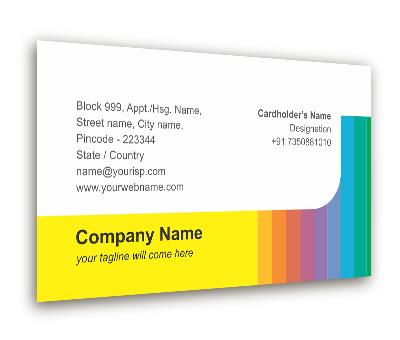 Business card design for colour world paint shop offset or digital online business card printing colour world paint shop reheart Gallery