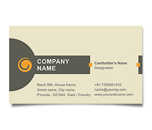 Business Card printing Management Consultant