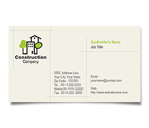 Business Card printing Home Construction