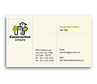 Online Business Card printing Home Construction