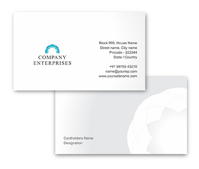 Online Business Card printing Exclusive Garments