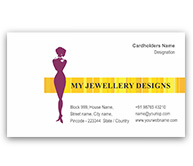 Online Business Card printing Jewelry Designing