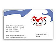 Online Business Card printing Bike Shop