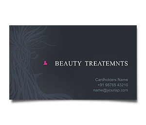 Business Card printing Beauty Treatment