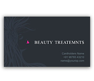 Online Business Card printing Beauty Treatment